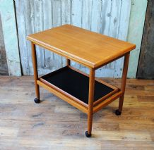 Danish teak trolley - SOLD